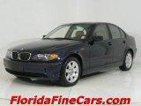 2003 Orient Blue Metallic BMW 3 Series 325i Sedan #544085