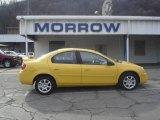 2003 Solar Yellow Dodge Neon SXT #6293213