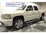 2012 White Diamond Tricoat Chevrolet Silverado 1500 LTZ Crew Cab 4x4 #63038715