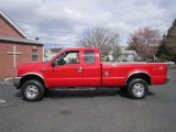 2004 Red Ford F250 Super Duty XLT SuperCab 4x4 #63038706