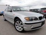 2003 Titanium Silver Metallic BMW 3 Series 325xi Sedan #63038088