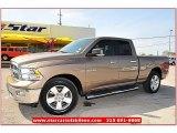 2010 Austin Tan Pearl Dodge Ram 1500 Lone Star Quad Cab #63038413