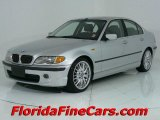 2003 Titanium Silver Metallic BMW 3 Series 330i Sedan #544001