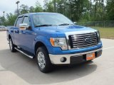 2010 Blue Flame Metallic Ford F150 XLT SuperCrew #63101517