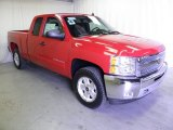 2012 Victory Red Chevrolet Silverado 1500 LT Extended Cab 4x4 #63101143