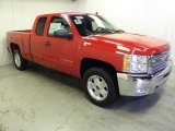 2012 Victory Red Chevrolet Silverado 1500 LT Extended Cab 4x4 #63101136