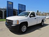 2012 Summit White Chevrolet Silverado 1500 Work Truck Regular Cab 4x4 #63100738