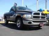 2004 Patriot Blue Pearl Dodge Ram 1500 ST Regular Cab #63101459