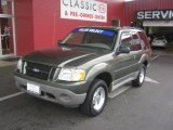 Estate Green Metallic Ford Explorer in 2003