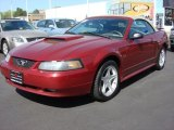 2003 Ford Mustang Redfire Metallic