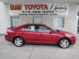 2008 Redfire Metallic Ford Fusion SEL #63100706