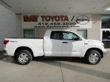 2012 Super White Toyota Tundra TRD Double Cab 4x4 #63100695