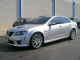 2009 Pontiac G8 Maverick Silver Metallic
