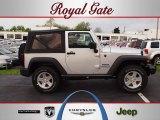 2012 Bright Silver Metallic Jeep Wrangler Sport S 4x4 #63101423