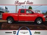 2012 Flame Red Dodge Ram 1500 Express Quad Cab 4x4 #63101422