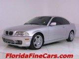 2003 Titanium Silver Metallic BMW 3 Series 330i Coupe #543889