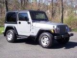 2000 Jeep Wrangler Silverstone Metallic