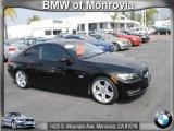 2009 Jet Black BMW 3 Series 335i Coupe #63100988
