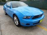 2011 Grabber Blue Ford Mustang V6 Premium Coupe #63100956