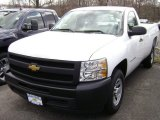 2012 Summit White Chevrolet Silverado 1500 Work Truck Regular Cab #63100505