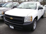 2012 Summit White Chevrolet Silverado 1500 Work Truck Regular Cab #63100504