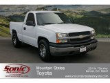 2004 Summit White Chevrolet Silverado 1500 Regular Cab #63100473