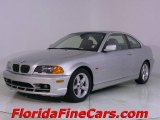 2003 Titanium Silver Metallic BMW 3 Series 325i Coupe #543886