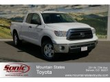 2012 Super White Toyota Tundra TRD Double Cab 4x4 #63100469