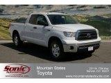 2012 Super White Toyota Tundra TRD Double Cab 4x4 #63100468