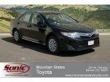 2012 Attitude Black Metallic Toyota Camry Hybrid LE #63100460