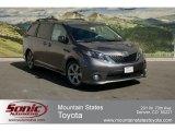 2012 Predawn Gray Mica Toyota Sienna SE #63100459