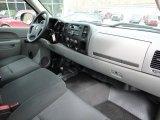 2010 Chevrolet Silverado 1500 Regular Cab 4x4 Dark Titanium Interior