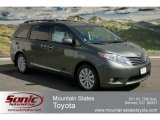 2012 Cypress Green Pearl Toyota Sienna Limited AWD #63100455
