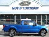 2012 Blue Flame Metallic Ford F150 XLT SuperCab 4x4 #63100903