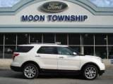 2013 White Platinum Tri-Coat Ford Explorer Limited 4WD #63100902
