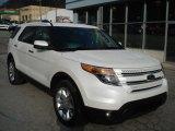 2013 Ford Explorer White Platinum Tri-Coat