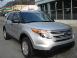 Ingot Silver Metallic Ford Explorer in 2013
