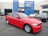 2006 Electric Red BMW 3 Series 325xi Sedan #63100883