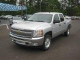 2012 Silver Ice Metallic Chevrolet Silverado 1500 LT Crew Cab 4x4 #63101248