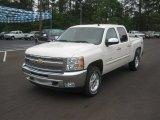 2012 White Diamond Tricoat Chevrolet Silverado 1500 LT Crew Cab 4x4 #63101246