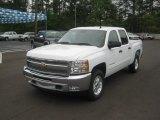 2012 Summit White Chevrolet Silverado 1500 LT Crew Cab 4x4 #63101244