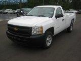 2012 Summit White Chevrolet Silverado 1500 Work Truck Regular Cab #63101243