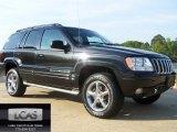 2002 Black Jeep Grand Cherokee Overland 4x4 #63101219