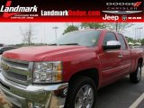 2012 Victory Red Chevrolet Silverado 1500 LT Extended Cab #63100815