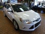 2012 White Platinum Tricoat Metallic Ford Focus SEL 5-Door #63169667