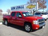 2008 Victory Red Chevrolet Silverado 1500 LT Crew Cab 4x4 #63169666