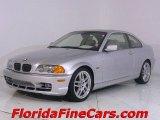 2003 Titanium Silver Metallic BMW 3 Series 330i Coupe #543850