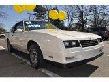 1988 Chevrolet Monte Carlo White