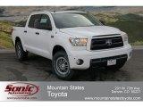 2012 Super White Toyota Tundra TRD Rock Warrior CrewMax 4x4 #63169580