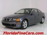 2003 Steel Blue Metallic BMW 3 Series 325i Coupe #543819